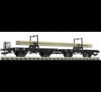 5952 Fleischmann Cradle trucks, type H 10 of the DB
