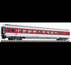 5109 Fleischmann IC/EC long distance openplan coach in traffic red livery, 2nd class, with electric tail lighting