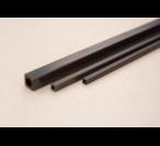 Rurki węglowe kwadratowe - długość 1000mm