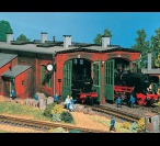 H0 5752 2 ROAD ENGINE SHED