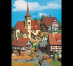 H0 3735 CHURCH AND HALF- TIMBERED HOUSES